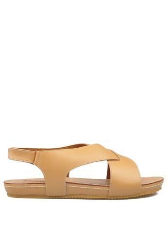 Beajove brown Mandy Sandals BE707SH14GYBID_1