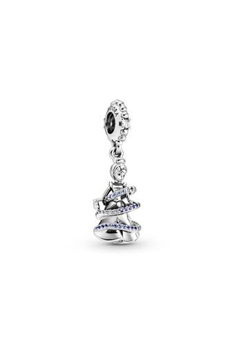 PANDORA silver Pandora Disney Cinderella Magical Moment Dangle Charm 97329ACA052E0AGS_1