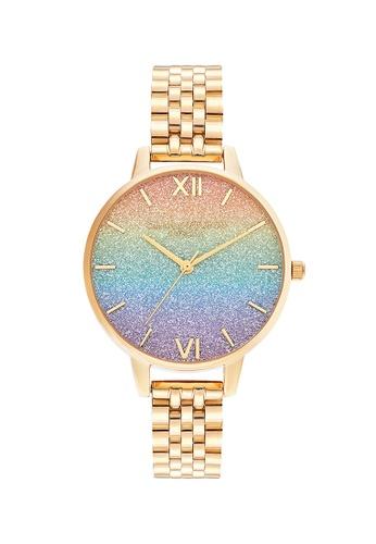 Olivia Burton gold Olivia Burton Rainbow GOLD Women's Watch (OB16RB23) 5A9F8AC66A7863GS_1