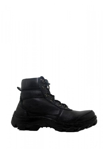 Cut Engineer black Cut Engineer Zipper Safety Boots Genuine Leather Black 1D299SH482B40DGS_1