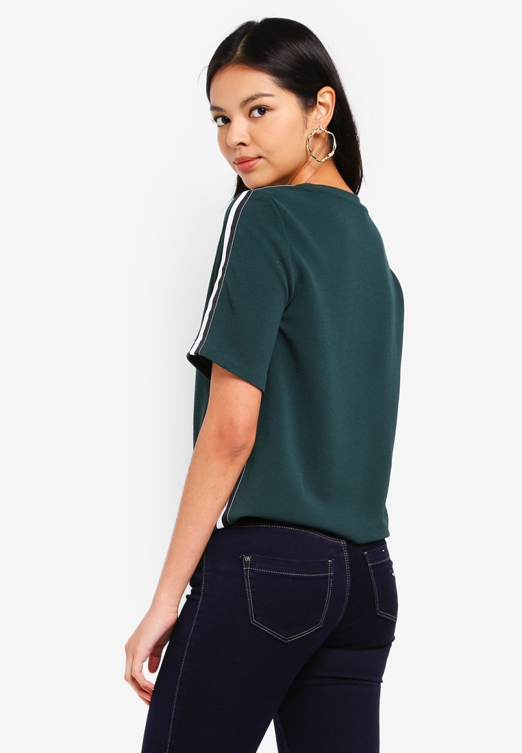 Black Green ONLY Gables Top Ramona White HqISw1YS