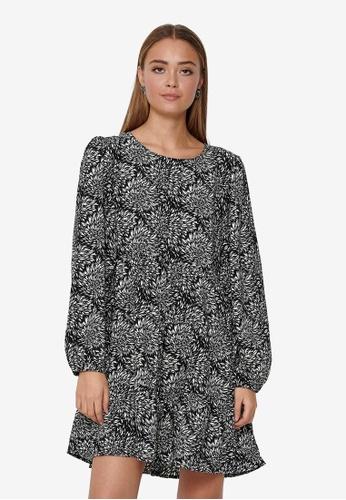 JACQUELINE DE YONG black Swing Mini Dress 33ADDAA55AD5FFGS_1