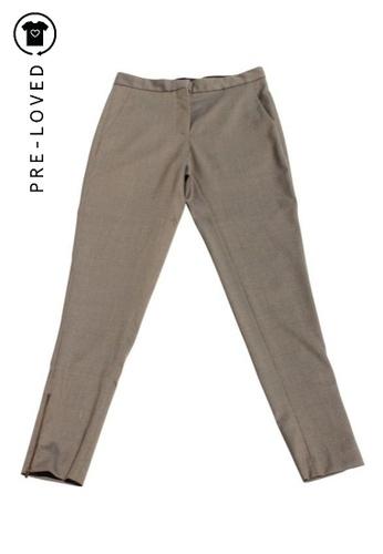 Stella Mccartney beige Pre-Loved stella mccartney Trousers with Zipper. D14CBAA3C67037GS_1