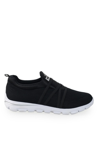 Footspot black Sprox - Slip-on Sneakers 64DB3SH0D2C228GS_1