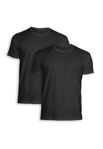 Sunjoy Underwear black Round Neck Shirt in Black (Bundle of 2) D3815AA52195A9GS_1