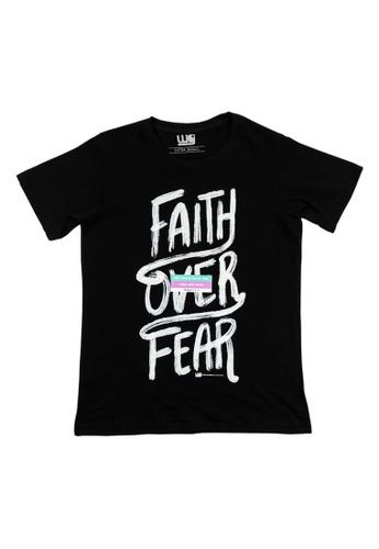 Worship Generation black Faith Over Fear Series Faith Over Fear T-Shirt 7F793AAA3B27C3GS_1