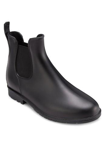 側彈esprit taiwan性帶雨靴, 女鞋, 俏皮男孩風