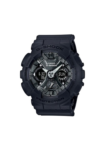 G-SHOCK black CASIO G-SHOCK WATCH GMA-S120MF-1ADR 3E147AC81F4096GS_1