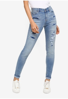 08f4f30175e1b6 Shop Ripped Jeans for Women Online on ZALORA Philippines