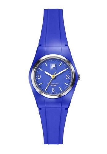 FILA Watches blue Fila Blue Rubber Watch 315B5AC7F4F5DFGS_1