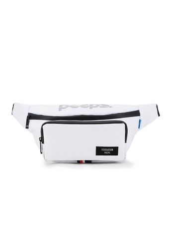Peeps white Run and Gun Waist Bag 1E333ACD01015EGS_1
