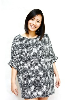 Rock Stone Print Big Blouse