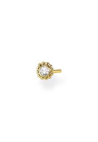 THOMAS SABO gold Ear Stud Flower (Single) Gold EB419AC02F3726GS_1