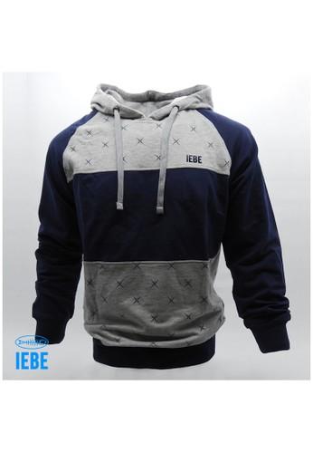 IEBE IEBE Sweatshirts tangan panjang Hoodie K7AI8021 365A0AAD704C7FGS_1