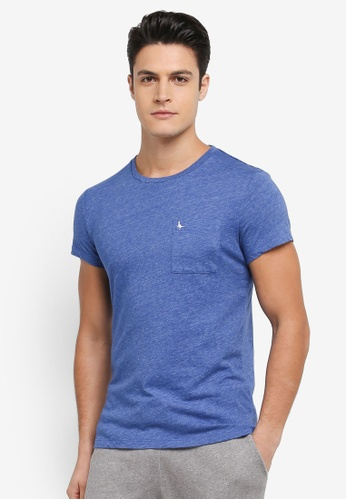 Jack Wills blue Ayleford T-shirt 96AE9AA746BEF9GS_1