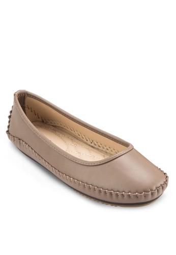 休閒方頭平底鞋, 女鞋, 芭蕾平底esprit門市地址鞋