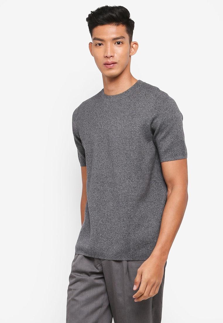 Tee TWENTY Knit Tee grey Knit AT Knit TWENTY grey AT AT Tee x8q4ABw