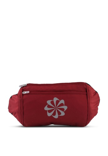 Nike red Challenger Waist Pack Large F306DAC12E92FDGS_1