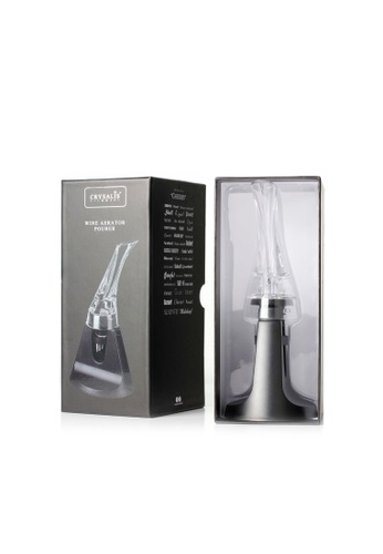 Crysalis n/a Premium Wine Accessory Wine Aerator Pourer with Base DDD9CHL8CDC97AGS_1