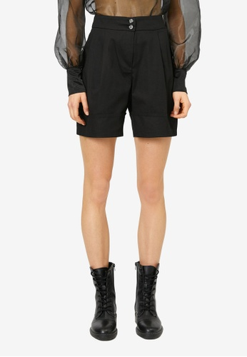 KOTON black Casual Shorts ED07EAA392653CGS_1