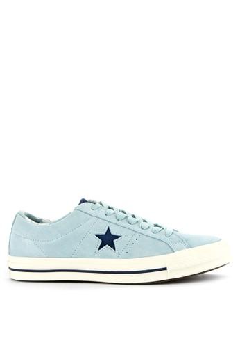 Converse blue One Star FA7F7SHA4230D1GS_1