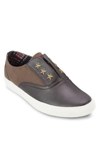 星星鉚釘zalora taiwan 時尚購物網休閒鞋, 鞋, 懶人鞋