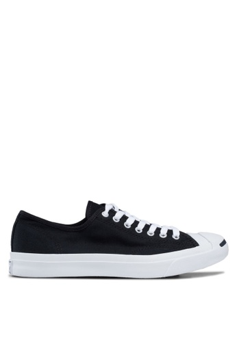 Converse black Jack Purcell Core Sneakers Ox CO302SH12FRVMY_1