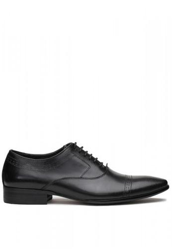 Kings Collection black Vicente Derbies Shoes AB060SHD0EA6C4GS_1