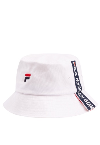 6149ec460b1 Buy Fila Fusion Embroidered Logo Bucket Hat Online on ZALORA Singapore
