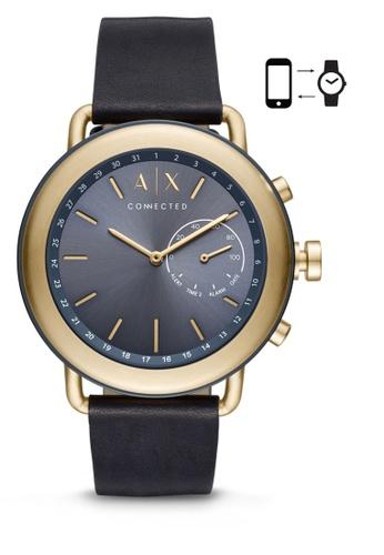 Armani Exchange blue Armani Exchange Luca Smart Watch AXT1023 83A1FACC4DDDCFGS_1