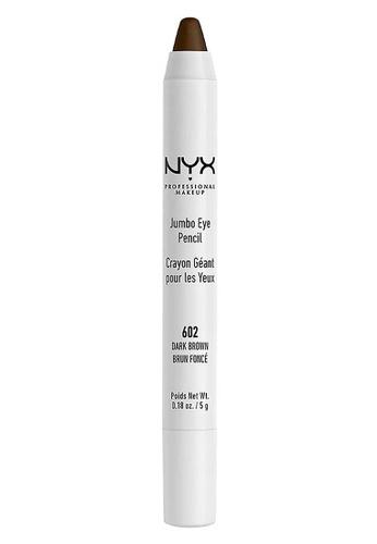 NYX Professional Makeup brown NYX Professional Makeup Jumbo Eye Pencil -  DARK BROWN 6ACA7BE9EF2678GS_1