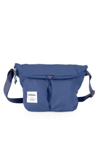 Hellolulu blue Mini Kasen All Day Shoulder Bag 93C1BAC41CE904GS_1
