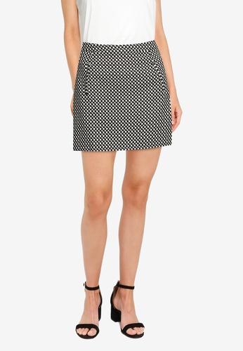 ZALORA WORK multi Mini Skirt AD94BAA05D32C9GS_1