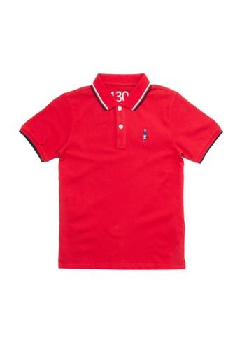 Giordano red Classic Junior Polo Shirt E81CCKA88F2D8CGS_1