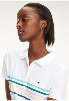 673993649b5b2 Tommy Hilfiger New Chiara Str Pq Polo Dress S S  199.00. Sizes XS S M L XL