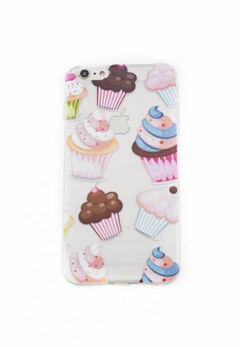 Fancy Cellphone Cases multi Cupcakes Soft Transparent Case 6plus/6splus FA644AC59YCQPH_1