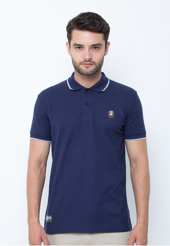 Navy Kong Logo Polo