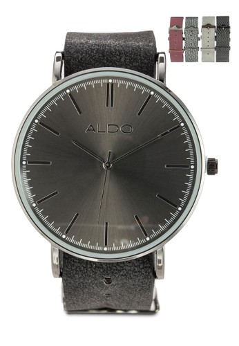 Binia 簡約esprit 童裝仿皮圓錶, 錶類, 飾品配件