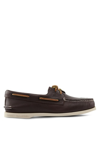 Sperry brown Authentic Original 2-Eye Classic Boat Shoes SP921SH47QKUSG_1