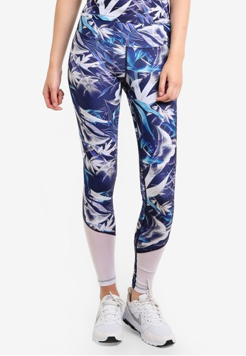 We Are Handsome blue Active High Waist Leggings WE427AA95YHCMY_1