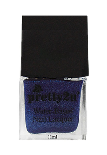 Pretty2u blue Peel Off Water-Based Nail Lacquer 28 PR716BE79EEEMY_1