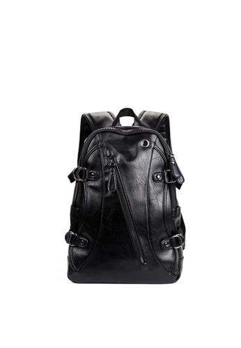 Lara black Large Capacity Backpack for Men 7D124AC7EB06EFGS_1