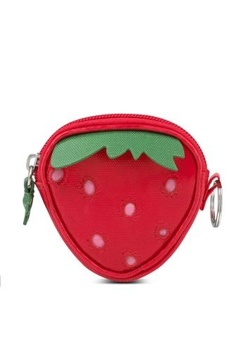 Cath Kidston red Kids Strawberry Purse D2B37KC8191CA3GS_1