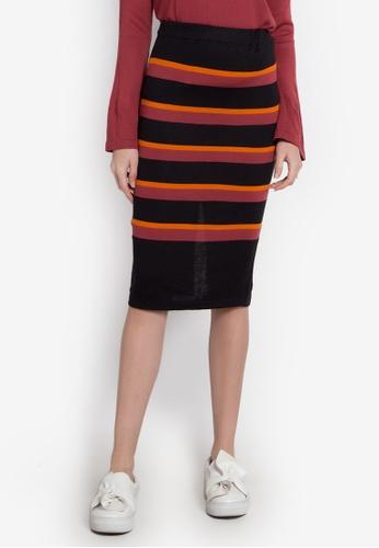 Chloe Edit multi Striped Skirt CH672AA0JZC4PH_1