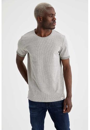 DeFacto green Man Knitted T-Shirt F548CAA7E73B94GS_1