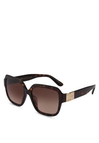 Dolce & Gabbana brown Dolce & Gabbana DG4336F Sunglasses 2700EGLB92ED85GS_1