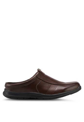 Bata brown Bata Men Loafers D2321SHC5A7041GS_1