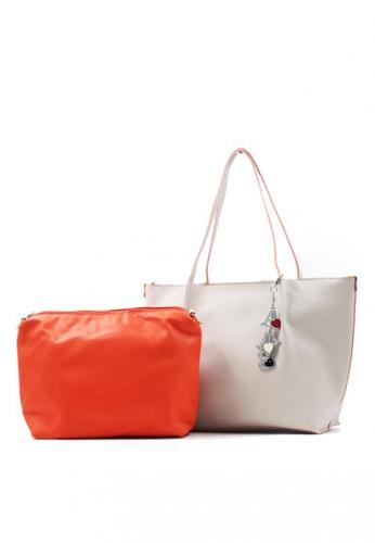Vintage Paris white Mira Shoulder Bag with Pouch VI567AC40RGTPH_1