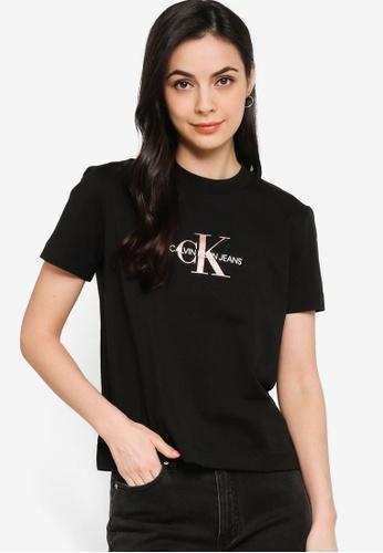 Calvin Klein black Short Sleeve Tee - CK Jeans 8AB9AAA20EEB50GS_1