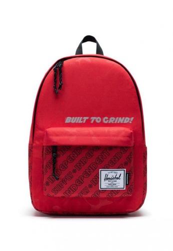 Herschel red Classic X-Large Backpack 6B614AC83FDFEBGS_1